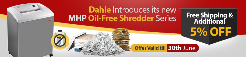 Dahle MHP Oil-Free Shredder Series