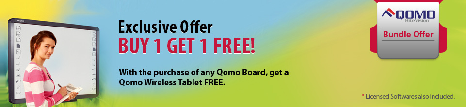 QOMO Interactive Whiteboard