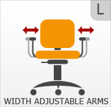 Width Adjustable Arms