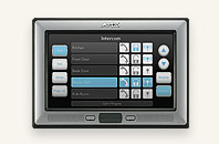 "AMX 10"" Modero® Wall/Flush Mount Touch Panel with Intercom"