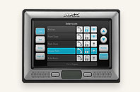 "AMX 7"" Modero® Wall/Flush Mount Touch Panel with Intercom"