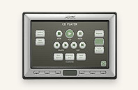 "AMX 5"" Modero® Wall/Flush Mount Touch Panel"
