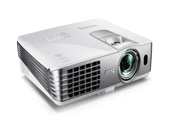Benq 5.5 lbs DLP projector, SVGA, 2500 AL, 5000:1 CR, 3D Ready, HDMI, USB Dsiplay & Reader, 10W speakerx1