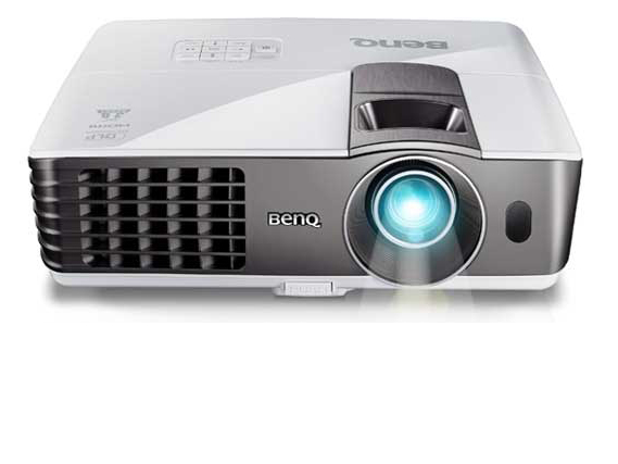 Benq 6.0 lbs DLP projector, XGA, 2700 AL, 5300:1 CR, HDMI, 3D Ready, USB Dsiplay & Reader, 10W speaker x 1