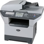 Brother MFC 8860DN Laser Multifunction Printer-Scanner-Copier-Fax