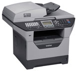 Brother MFC-8480DN Laser Multifunction Printer-Scanner-Copier-Fax