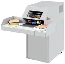 MBM Destroyit 4107SC Industrial StripCut Paper Shredder