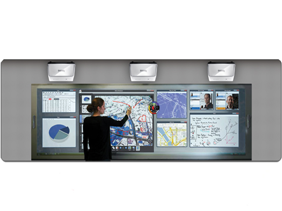 eBeam InfoWall Interactive Solution