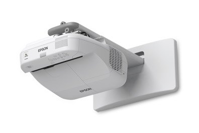 Epson BrightLink Pro 1410Wi Meeting Room Productivity Tools with Wall Mount