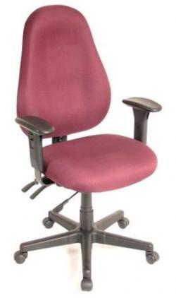 Eurotech Mid Back Fabric Ergonomic Chair - Slider 1701