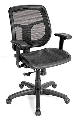 Eurotech Mid Back Ergonomic Mesh Task Chair � Apollo MMT9300