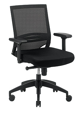 Eurotech Mid Back Mesh Task Chair - Kari MT6500