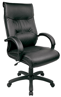 Eurotech High Back Leather Ergonomic Chair - Prima LE9408