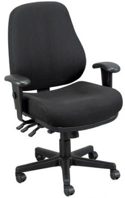 Eurotech Multipurpose Fabric Ergonomic Chair - 24/7