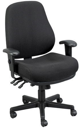 Eurotech Multipurpose Fabric Ergonomic Chair - 24/7