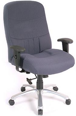 Eurotech High Back Fabric Ergonomic Chair - Excelsior BM9000