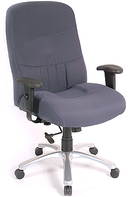 Eurotech High Back Fabric Ergonomic Chair - Excelsior BM9000