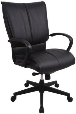 Eurotech High Back Leather Office Chair - Louisville LE8505