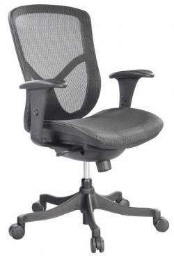Eurotech Mid Back Office Task Chair - Fuzion FUZ5B-LO