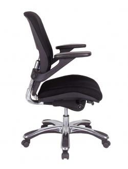 Eurotech Mid Back Ergonomic Task Chair   Vapor FE22VAP   Latte