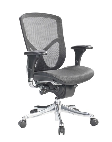 eurotech fuz5b lo fuzion mesh back ergonomic chair