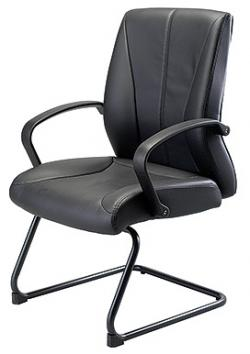 Eurotech Mid Back Vinyl Guest Chair � Zyco VE6230