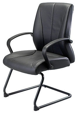 Eurotech Mid Back Vinyl Guest Chair – Zyco VE6230
