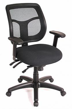 Eurotech Mid Back Mesh Multi-function Task Chair � Apollo MFT9450