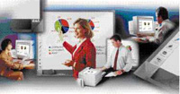 PolyVision TSL 410 Touch Sensitive Interactive Whiteboard