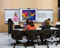 PolyVision WT 1410 Walk-and-Talk Interactive Whiteboard