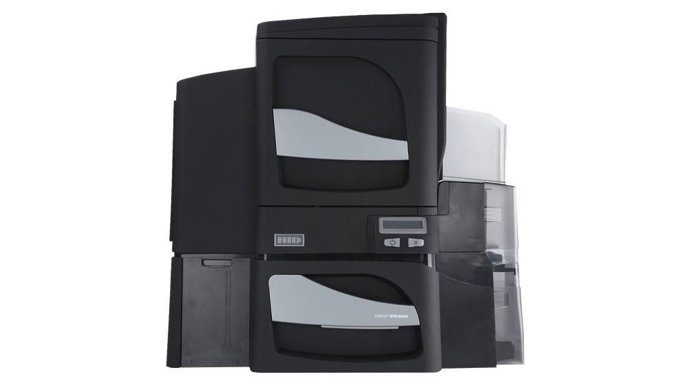 Fargo DTC4500 Single Sided Card Printer (Optional: Double Sided Printer)