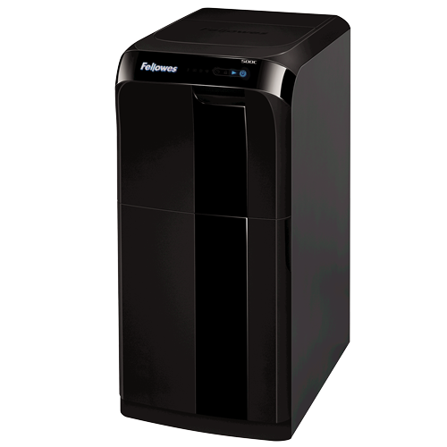The Fellowes AutoMax 500C Cross-Cut Shredder
