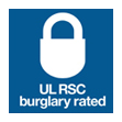 UL RSC burglary rated