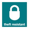 Theft Resistant