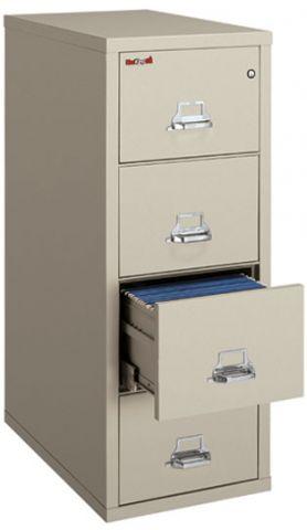 Perfect FireKing 1 Hour Fireproof Legal Vertical File Cabinet 4 2131 C