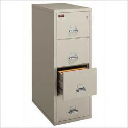 FireKing 1 Hour Fireproof Letter Vertical File Cabinet 4-1831-C