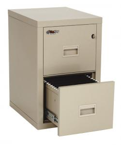 FireKing Turtle 2 Drawer Vertical File Cabinet 2R1822-C
