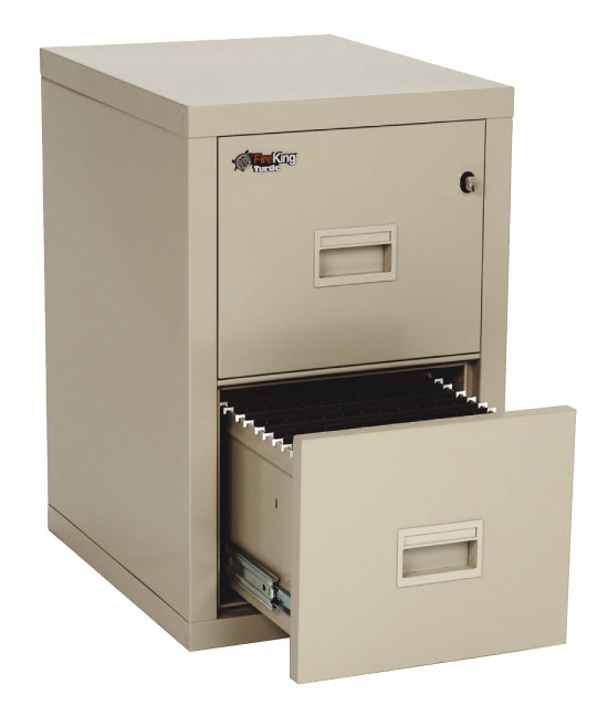 FireKing Turtle 2 Drawer Vertical File Cabinet 2R1822-C