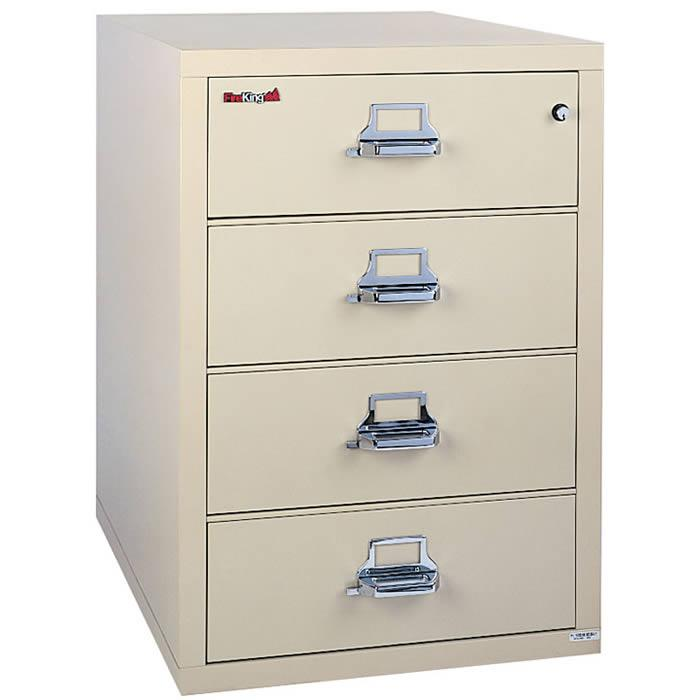 FireKing	4 Drawer 38 Inch Wide Lateral File Cabinet 4-3822-C