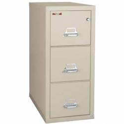 FireKing 3 Drawer Letter Vertical File Cabinet 3-1831-C