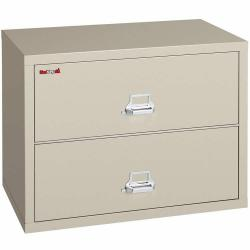 FireKing2 Drawer 31 Inch Wide Lateral File Cabinet 2-3122-C
