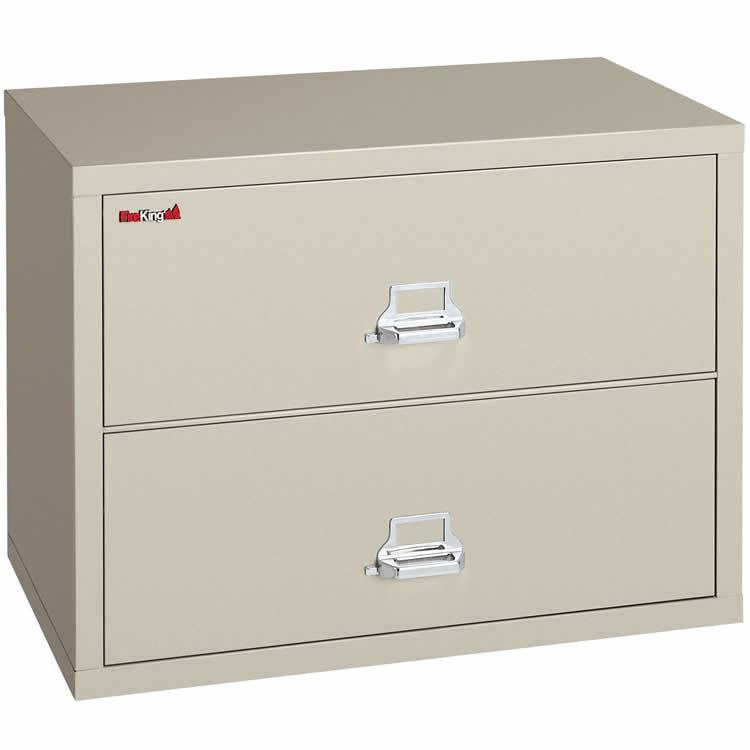 FireKing 2 Drawer 44 Inch Wide Lateral File Cabinet 2-4422-C