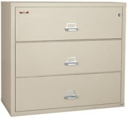 FireKing 38 Inch Wide Lateral File Cabinet 3-3822-C (3 Drawer)