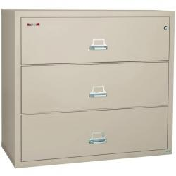 FireKing 44 Inch Wide Lateral File Cabinet 3-4422-C (3 Drawer)
