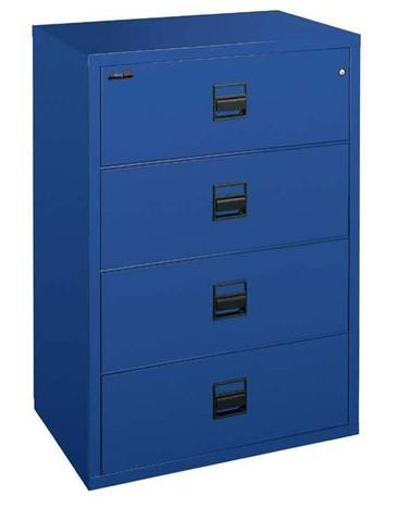 FireKing Signature Series 4 Drawer 31 Inch Wide Lateral Filing Cabinet 4S3122-CSCML