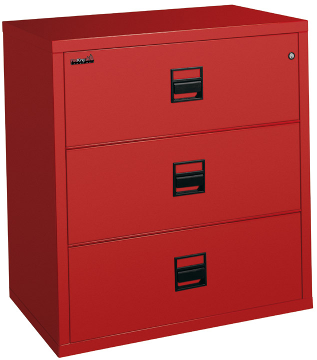 FireKing Signature Series 3 Drawer 31 Inch Wide Lateral Filing Cabinet 3S3122-CSCML