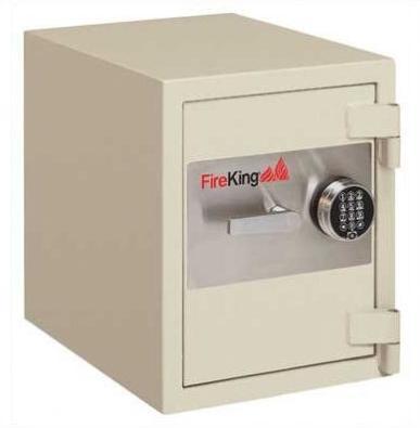 FireKing 1 Hour Fire & Burglary Rated Record Safe With 1 Shelf FB2218C1