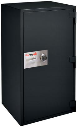 FireKing 1 Hour Fire & Burglary Rated Record Safe With 2 Shelves FB3624-1