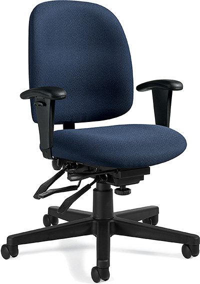 Global Granada Low Back Multi Tilter Chair 3212