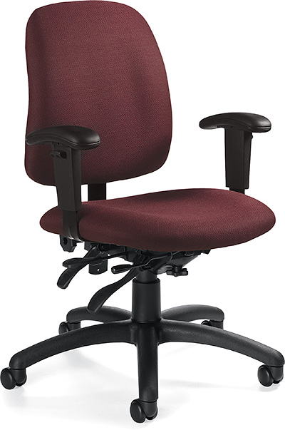 Global Goal Low Back Multi Tilter Chair 2237-3
